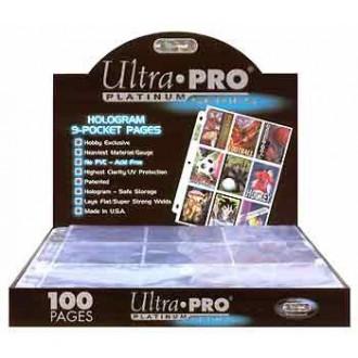 Příslušenství ke kartám - Folie Ultra Pro Platinum 100ks