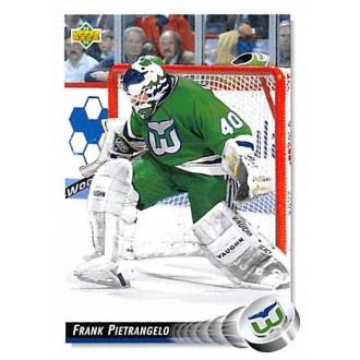 Řadové karty - Pietrangelo Frank - 1992-93 Upper Deck No.273