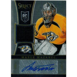 Podepsané karty - Mazanec Marek - 2013-14 Rookie Anthology Select Update Rookie Jersey Autograph Blue No.324