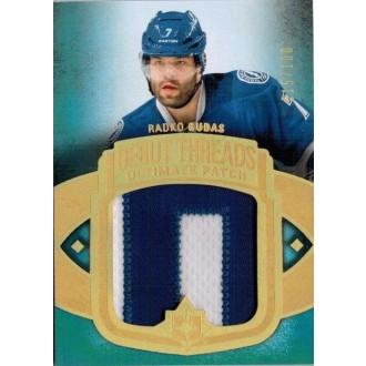 Češi v NHL - Gudas Radko - 2013-14 Ultimate Collection Debut Threads Patches No.UDT-RG