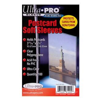 Příslušenství ke kartám - Postcard Sleeves