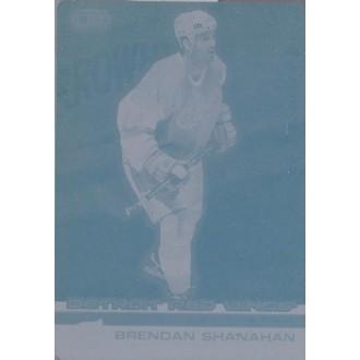 Exkluzivní karty - Shanahan Brendan - 2002-03 Heads Up Printing plateNo.47
