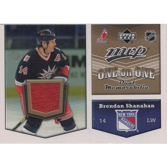 Jersey karty - Shanahan Brendan, Smyth Ryan - 2007-08 MVP One on One Jerseys No.OO-SS