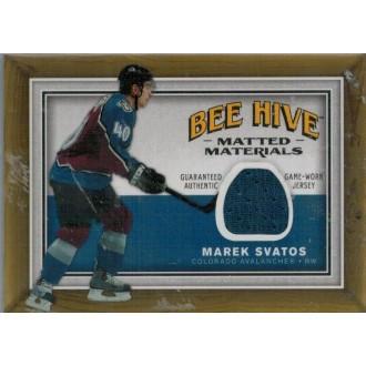 Jersey karty - Svatoš Marek - 2006-07 Beehive Matted Materials blue No.MM-SV