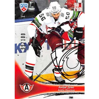 Karty KHL - Deveaux Andre - 2013-14 Sereal Gold No.AVT-006