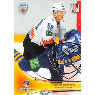 Karty KHL - Medvedev Alexei - 2013-14 Sereal Silver No.SST-015