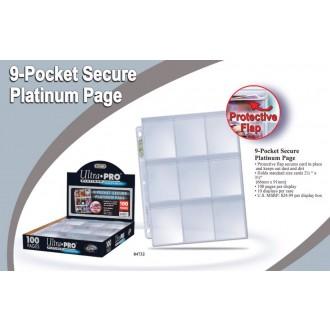 Příslušenství ke kartám - Folie Ultra Pro Platinum Secure 100ks