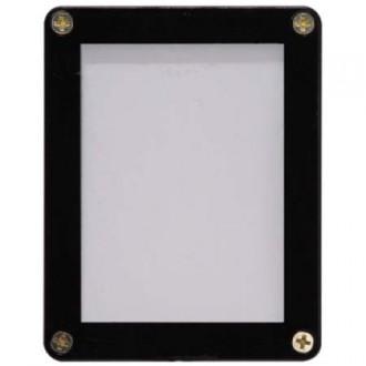 Příslušenství ke kartám - 1-Card Black Frame Screwdown Holder