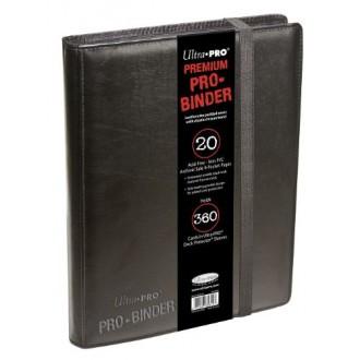 Příslušenství ke kartám - Ultra Pro PRO-BINDER Premium černá