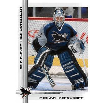 Řadové karty - Kiprusoff Miikka - 2000-01 BAP Memorabilia No.506