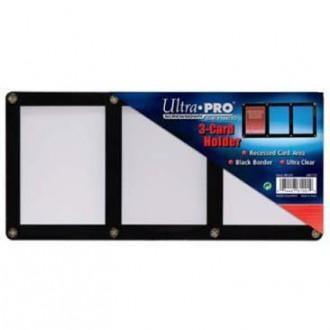 Příslušenství ke kartám - 3-Card Black Frame Screwdown Holder