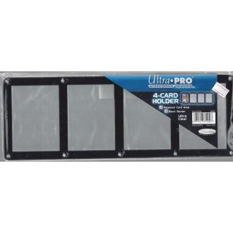 Příslušenství ke kartám - 4-Card Black Frame Screwdown Holder