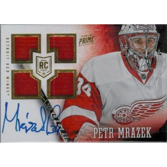 Podepsané karty - Mrázek Petr - 2013-14 Prime - red No.140