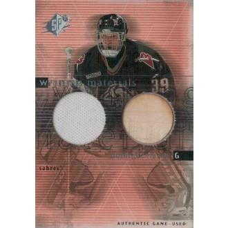 Jersey karty - Hašek Dominik - 2000-01 SPx Winning Materials No.DH