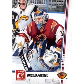 Paralelní karty - Pavelec Ondřej - 2010-11 Donruss Press Proofs No.157