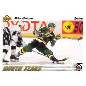 Řadové karty - Modano Mike - 1991-92 Upper Deck French No.160