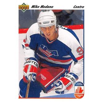 Řadové karty - Modano Mike - 1991-92 Upper Deck French No.32