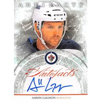 Podepsané karty - Gagnon Aaron - 2012-13 Artifacts Autofacts No.A-AG A2