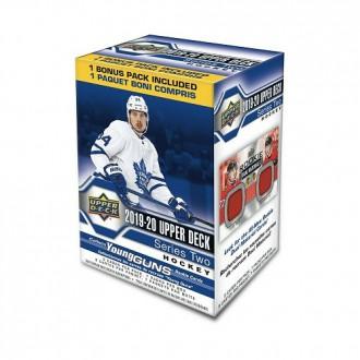 Boxy karet NHL - Upper Deck Blaster Box Series II. 2019-20