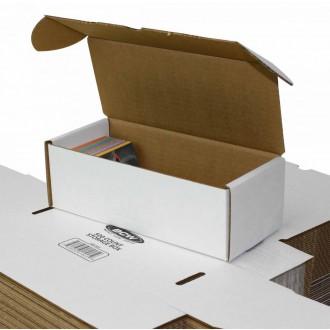 Příslušenství ke kartám - Papírová krabice BCW na 500 karet
