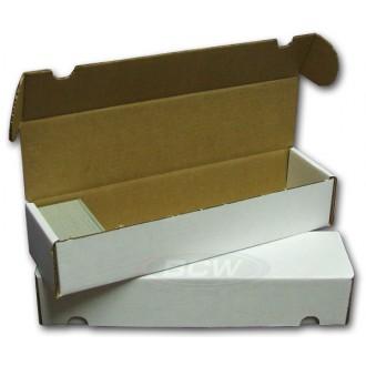 Příslušenství ke kartám - Papírová krabice BCW na 800 karet