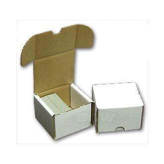 Příslušenství ke kartám - Papírová krabice BCW na 200 karet