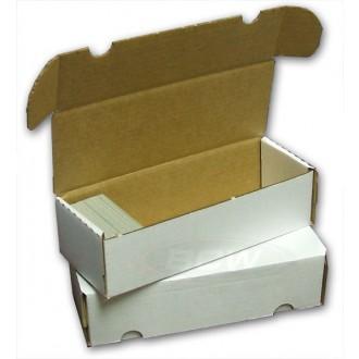 Příslušenství ke kartám - Papírová krabice BCW na 550 karet