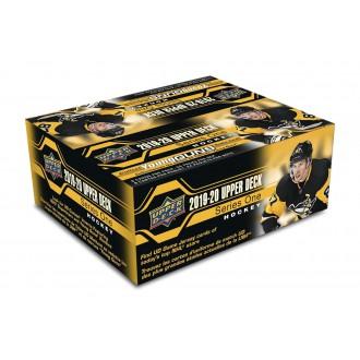 Boxy karet NHL - Box Upper Deck series I Retail Foil 2019-20