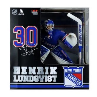 Hokejové figurky - Figurka Henrik Lundqvist 30cm - N.Y. Rangers - Imports Dragon