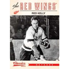 Kelly Red - 2012-13 Classics Signatures No.171