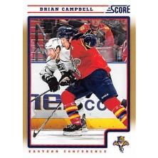 Campbell Brian - 2012-13 Score Gold Rush No.207