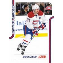 Gionta Brian - 2011-12 Score Glossy No.248