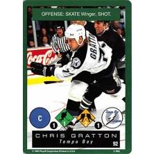 Gratton Chris - 1995-96 Playoff One on One No.92