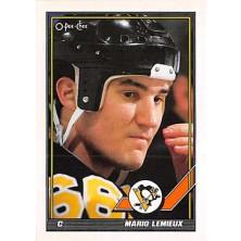 Lemieux Mario - 1991-92 O-Pee-Chee No.153