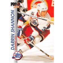 Shannon Darrin  - 1992-93 Pro Set No.218