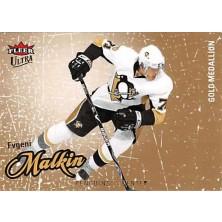 Malkin Evgeni - 2008-09 Ultra Gold Medallion No.77