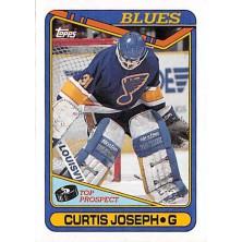 Joseph Curtis - 1990-91 Topps No.171