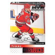 Westlund Tommy - 1999-00 MVP Stanley Cup Silver Script No.42