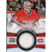 Price Carey - 2015-16 Upper Deck Game Jerseys No.GJ-CP