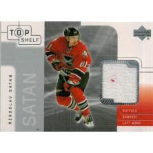 Šatan Miroslav - 2001-02 Top Shelf Jerseys No.TJ-MS