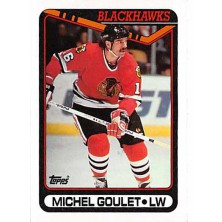 Goulet Michel - 1990-91 Topps No.329