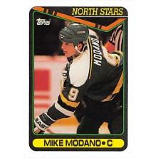 Modano Mike - 1990-91 Topps No.348