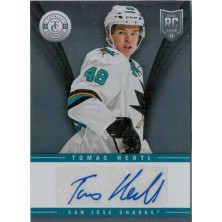 Hertl Tomáš - 2013-14 Totally Certified Rookie Signatures No.TR-THE