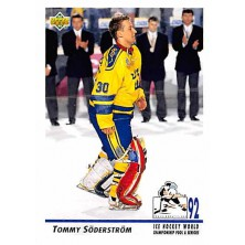 Soderstrom Tommy - 1992-93 Upper Deck No.377