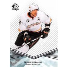 Selanne Teemu - 2011-12 SP Authentic No.98