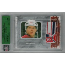 Koivu Saku - 2008-09 ITG Ultimate Memorabilia Base Card Silver No.81
