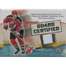 Stastny Peter - 2001-02 Greats of the Game Board Certified No.5