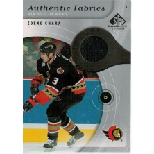 Chára Zdeno - 2005-06 SP Game Used Authentic Fabrics No.AF-ZC