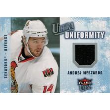 Meszaros Andrej - 2008-09 Ultra Uniformity No.UA-AM
