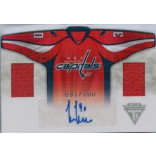 Neuvirth Michal - 2011-12 Titanium Home Sweaters Memorabilia Autographs No.26